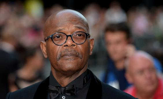 Samuel L. Jackson attends the GQ Men of the Year Awards