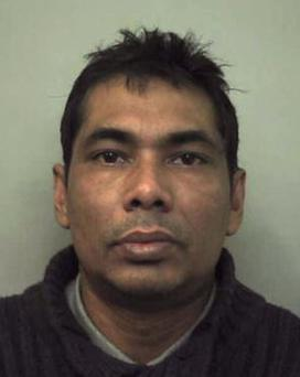 Shahidul Ahmed who has been convicted of killing shop assistant Rachel Manning, 19