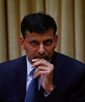 Raghuram Rajan, newly appointed governor of Reserve Bank of India (RBI), listens to a question during a news conference at the bank's headquarters in Mumbai
