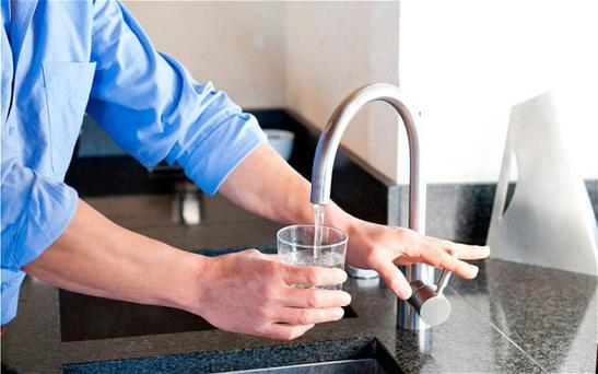 Countries where everyone has access to cleaning drinking water, such as the UK and France, have nine per cent higher Alzheimer's rates then average.