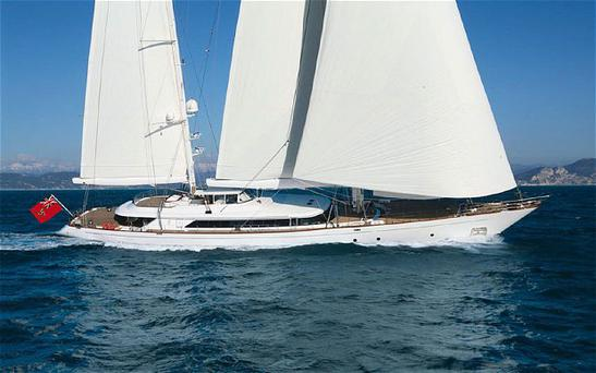 The 184-foot boat, named Rosehearty, has a cruising speed of 13 knots