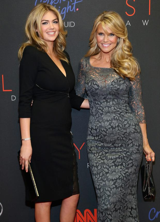 Showing Them How Its Done Christie Brinkley Puts Kate Upton In The