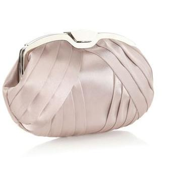 This chic pink pleated clutch with clip frame fastening, inside pocket and chain strap is perfect for debutants going for the more traditional debs look. It costs just over €30 from high street favourite Accessorize.