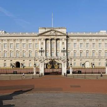 The man was found 'in an area currently open to the public during the day' at Buckingham Palace, police said