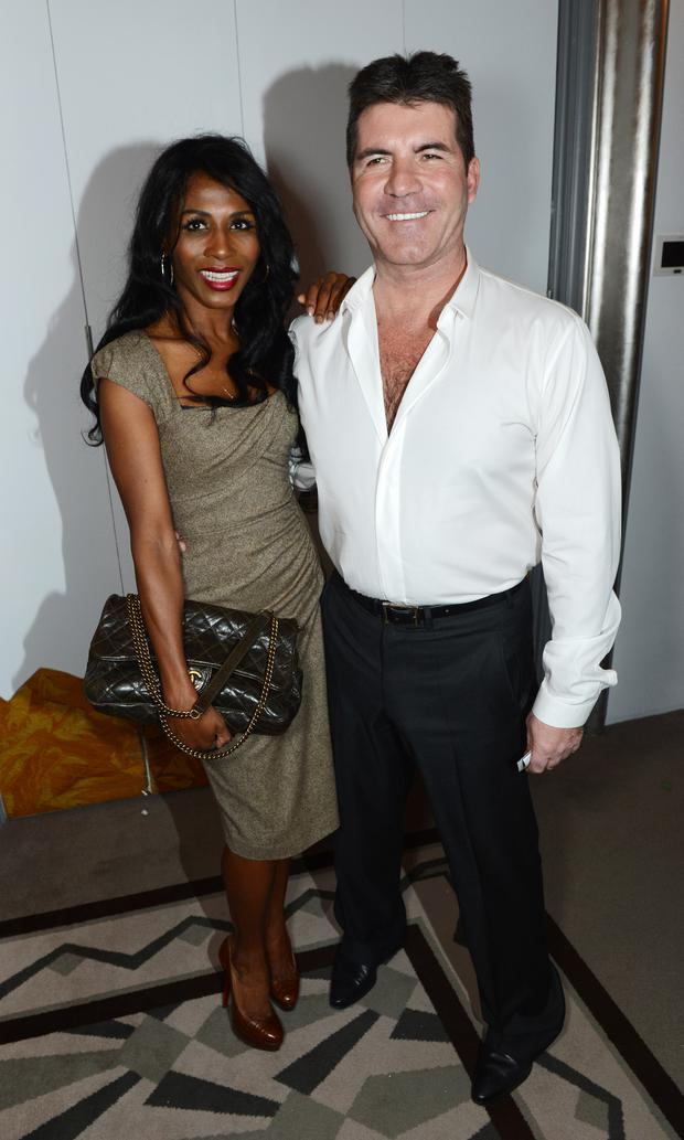 When she initially found out Simon was set to be a father, Sinitta expressed her shock by tweeting that it was ''half miracle, half nightmare.'' . (Photo by Dave J Hogan/Getty Images)