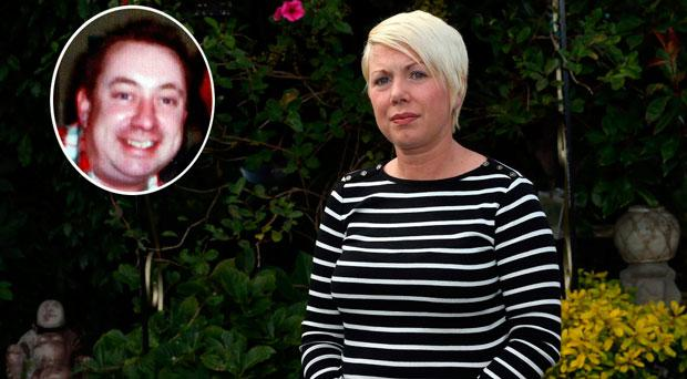 Former Priory Hall resident Stephanie Meehan whose partner Fiachra Daly (inset) committed suicide.