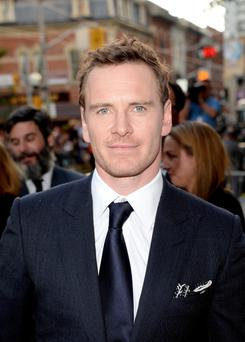 "Michael Fassbender arrives at the ""12 Years A Slave"" premiere during the 2013 Toronto International Film Festival"