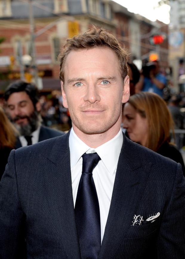 Michael Fassbender arrives at the