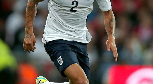 England defender Kyle Walker has admitted to
