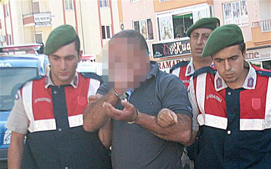"The 46-year-old gardener, identified only by the initials ""VA"", later gave himself up to the jandarma and is due to appear in court in Turkey later today"