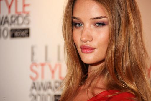 LONDON, ENGLAND - FEBRUARY 22: (UK TABLOID NEWSPAPERS OUT) Rosie Huntington-Whiteley arrives at the Elle Style Awards 2010 held at The Grand Connaught Rooms on February 22, 2010 in London, England. (Photo by Gareth Davies/Getty Images) *** Local Caption *** Rosie Huntington-Whiteley