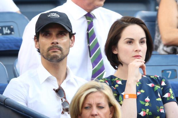 John Dineen and Michelle Dockery in New York
