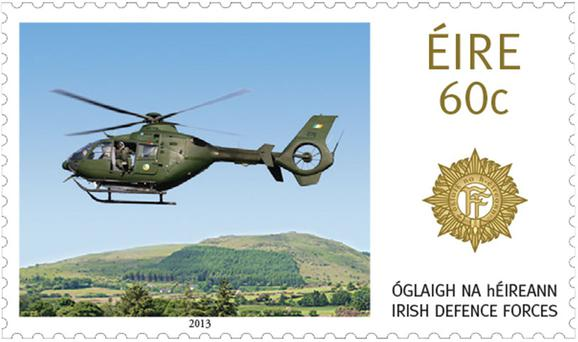 An Post has paid tribute to Irish Defence Forces in a new range of stamps.