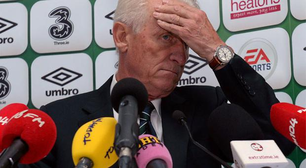 Giovanni Trapattoni is reported to have cut a deal worth €500,000