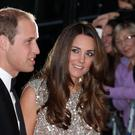 The Duke and Duchess of Cambridge arriving at the inaugural Tusk Conservation Awards at the Royal Society, London. PRESS ASSOCIATION Photo. Picture date: Thursday September 12, 2013. Photo: Yui Mok/PA Wire