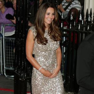 The Duchess of Cambridge arriving at the inaugural Tusk Conservation Awards at the Royal Society, London. PRESS ASSOCIATION Photo. Picture date: Thursday September 12, 2013. Photo: Yui Mok/PA Wire