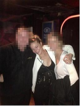 LeAnn Rimes pictured during her night out at Copperface Jacks.