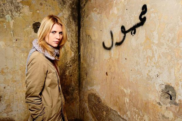 Claire Danes in series one of 'Homeland'