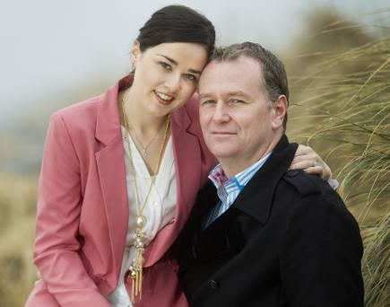 Daithi O Se and wife Rita Talty are expecting their first child