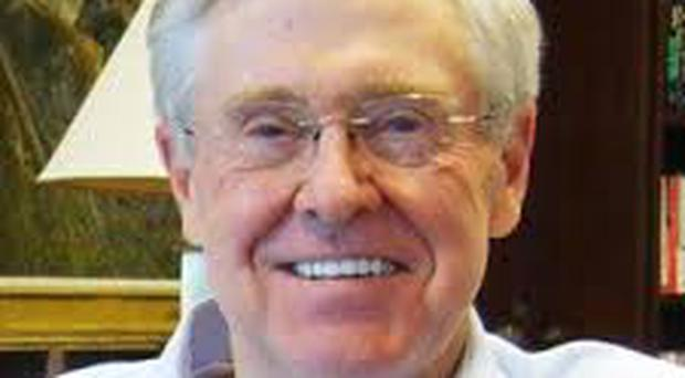 Charles Koch is chairman and CEO of Koch Industries