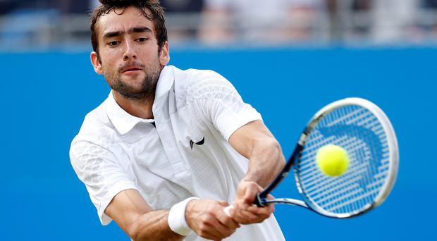 Marin Cilic has been suspended for nine months after testing positive for a banned stimulant, ruling him out until February 1, 2014, the International Tennis Federation has announced