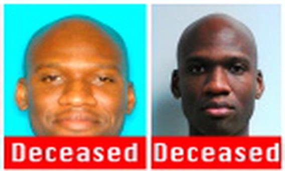 A combination photo shows Aaron Alexis, who the FBI believe to be responsible for the shootings at the Washington Navy Yard in the Southeast area of Washington, DC