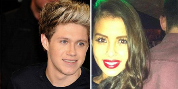 Niall Horan (L) and model Zoe Whelan (R) were linked romantically