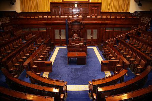 A general view of the Dáil chamber