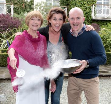 Biddy White Lennon,Anna Nolan and Executive Pastry Chef Paul Kelly