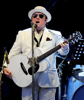 Van Morrison's delight at getting freedom of native city