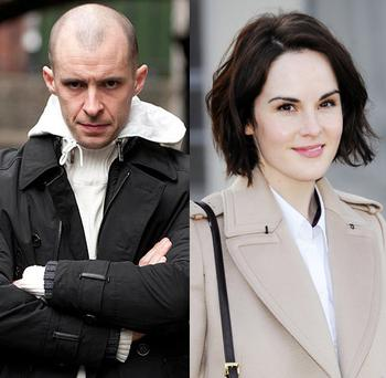 It's Nidge vs Lady Mary in the TV ratings war
