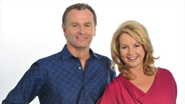 Daithi and Claire worked together on their afternoon chat show last year