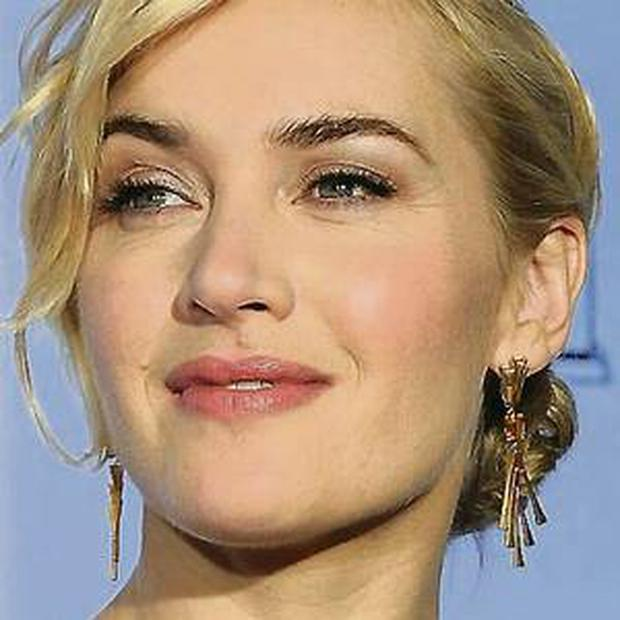 Aim for clean, super-glowing skin like Winslet.