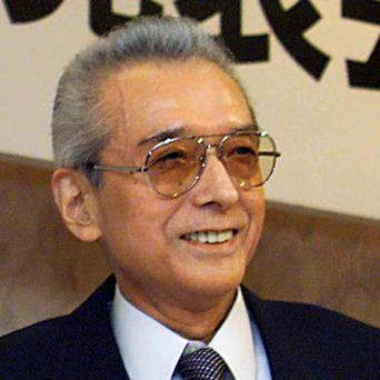 Japanese game maker Nintendo President Hiroshi Yamauchi attends a news conference in Tokyo in May 12, 1999 file photo. He died on September 19, 2013 of pneumonia, the company said. He was 85. REUTERS/Files (JAPAN - Tags: BUSINESS HEADSHOT)