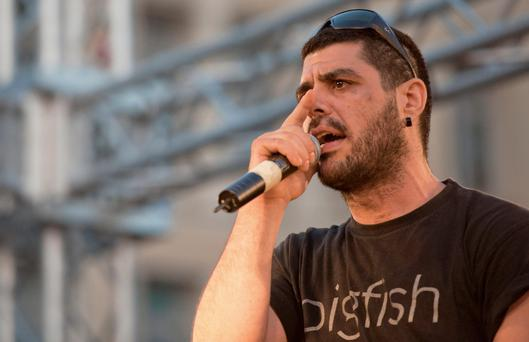 Fyssas, a hip-hop singer with the stage name Killah P and described as an anti-fascist activist, died early Wednesday Sept 18 from two stab wounds to the chest after leaving a cafe in the western area of Keratsini