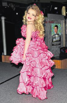 Eden Wood, America's most famous child pageant starlet