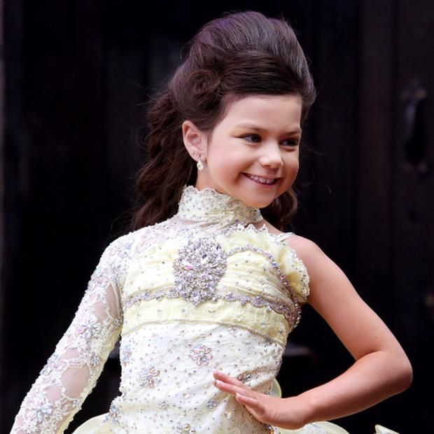 Universal Royalty Pageant.. Emilia Ramos(6) Picture; GERRY MOONEY. 21/8/13