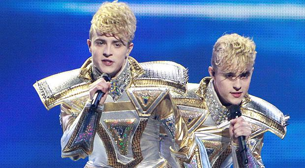 Jedward represented Ireland in the 2012 Eurovision Song Contest