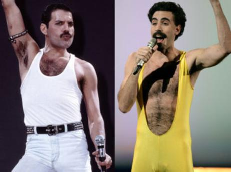 The British comic star had been lined up to play the iconic Queen frontman in a biopic.