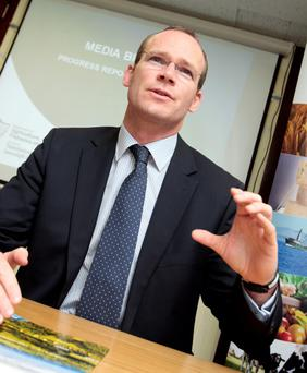 Speculation that Minister Simon Coveney won't introduce a new environmental package next year will anger farm organisations