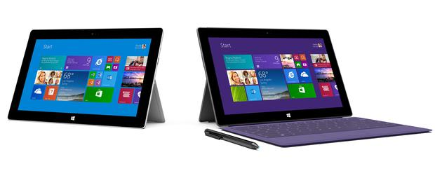 Surface 2 and Surface Pro 2 were unveiled in New York