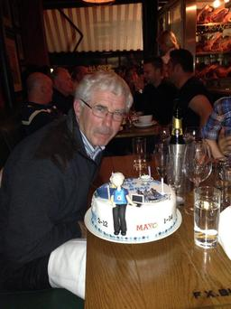 Bernard Brogan posted this picture of his father on twitter