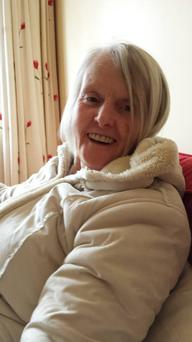 Gardai are appealing for information on missing Dublin woman Margaret (Peggy) Mangan (65) who was last seen leaving her home in Terenure with her King Charles Cavalier dog yesterday morning