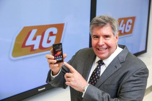Eircom's chief executive Herb Hribar/pic Maxwells
