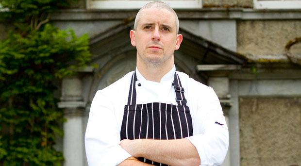 Cormac Rowe, the executive chef of Mount Juliet
