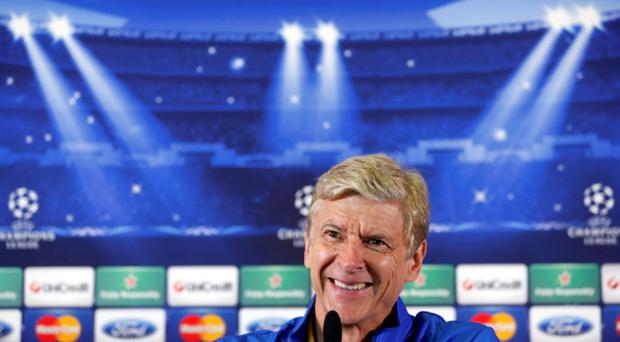 Arsenal's manager Arsene Wenger has pledged his future to Arsenal