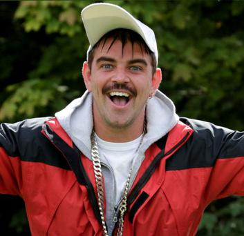 Comedian Andy Quirke as RTE's Damo.