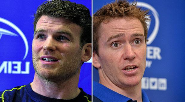 Gordon D'Arcy (L) and Eoin Reddan (R) back for Leinster ahead of Munster clash