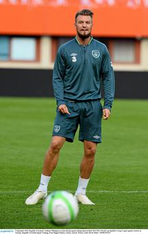 Republic of Ireland's Anthony Pilkington