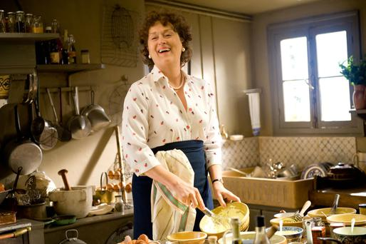 A mother's cooking was the inspiration behind film 'Julia & Julia', starring Meryl Streep